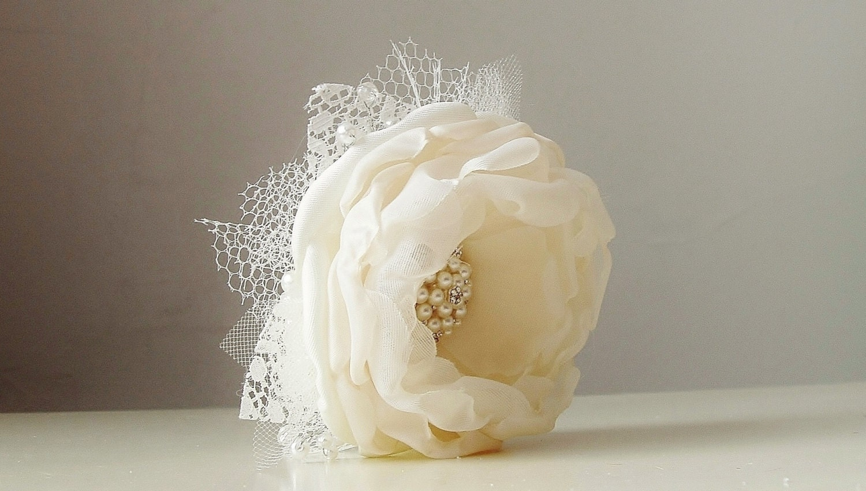 Wrist Corsage Wedding Corsage Fabric Flower Corsage