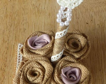 """Pen and holder """"Shabby Chic"""" style (made to order)"""