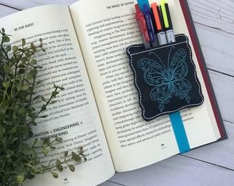 Butterfly Bookmarker Pocket