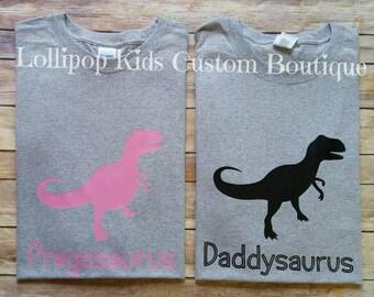 Daddyosaurus or Pregosaurus tee short sleeve shirt*