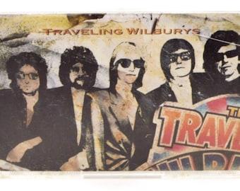 Vintage 80s Traveling Wilburys Volume One Album Cassette Tape