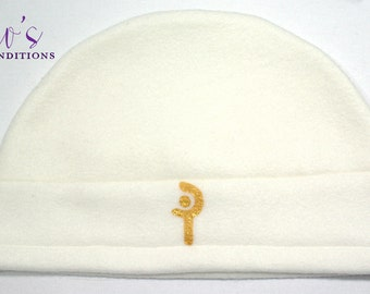 Final Fantasy XIV - White Mage Hat / Fleece Hat / Winter Hat / Final Fantasy Hat / Video Game Characters