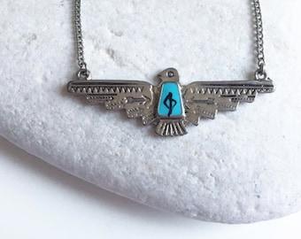 Eagle Spirit boho necklace