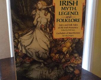 Treasury of Irish Myth, Legend, and Folklore Vintage Book