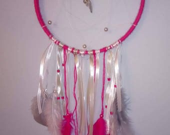 Hot pink dream catcher