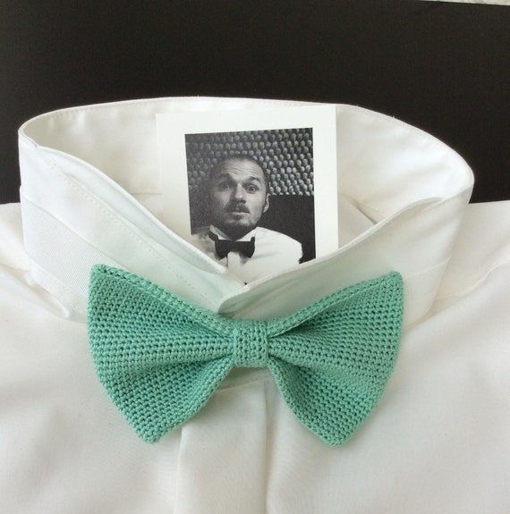 Knitted fly, silk/cotton, extreme-mint