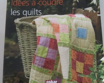 """Ideas sewing - quilts"" book - 16 projects for home"