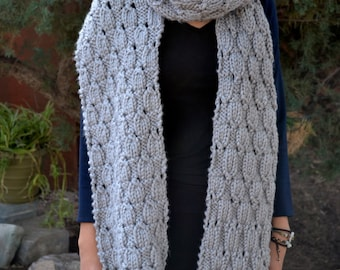 Long Scarf, Blanket Scarf, Extra Long Scarf, Winter Clothes, Winter Scarf, Scarf, Crocheted, Handmade, Best Ever, Amazing Chains