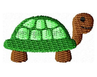 Machine Embroidery Design Embroidery Mini Turtle 2 INSTANT DOWNLOAD