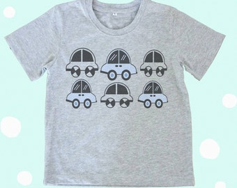 Car tshirt Toddlers tshirts kids shirt