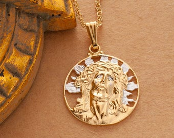 Brand new Jesus pendant | Etsy JC66