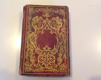 Vintage (1854) Book - The Garland or Token of Friendship by Emily Percival, editor