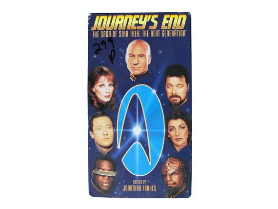 Star Trek Next Generation Journey's End VHS