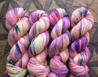 Cosmopolitan-Sturdy Sock Hand Dyed  Sock Yarn Superwash Merino Nylon