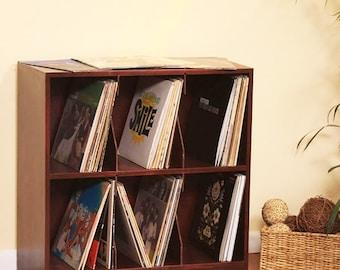 LP Record Storage Rack