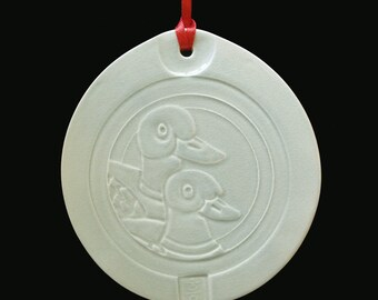 Korean Wedding Ducks Ornament