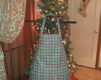Adult Christmas Apron / One Size Fits Most