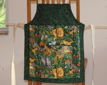 Aprons Collection Jungle Animals