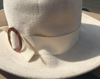 1970s Vintage Original Fedora Hat