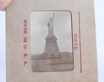 1960s Statue of Liberty Slide Vintage Memorabilia Gifts for Him