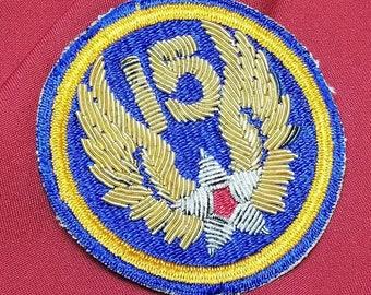 WW2 Bullion USAAF 15th Army Air Force Shoulder Patch Mint L@@k!!!!