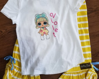LOL Surprise meets Matilda Jane! M2M Personalized Shirt Newest Release!  FREE SHIPPING!