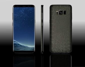 Samsung Galaxy S8 Crocodile Phone Skin Case