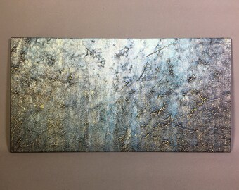 Textured acrylic painting