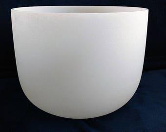 Quartz Crystal  Singing Bowl Crown Chakra 10″