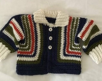 Infant Boys' Striped Sweater