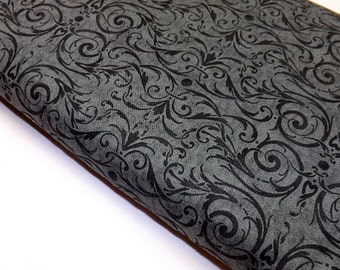 In The Beginning, Jason Yenter, Eclectic Garden, Quilt Fabric, Sewing, Black Fabric, Quilting, Apparel Fabric, Home Decor Fabric, Tote Bag