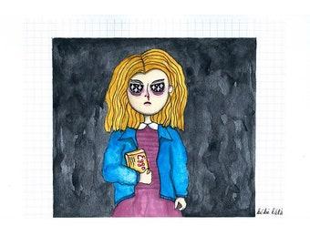 Eleven - Drawing original Artwork