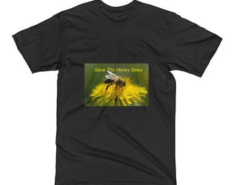 Save the Honey Bees Men's Short Sleeve T-Shirt