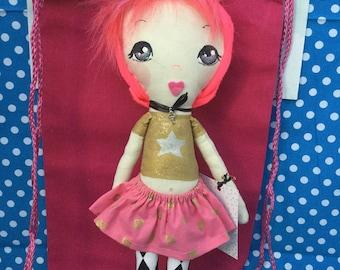 OOAK Dressup Doll