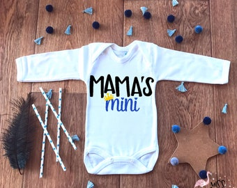 Mama Boy,Baby Boy Mama,Mama's Mini Outfit,Cute Baby Boy Onesie,Mommy and Me,Mommy's Boy,Baby Shower Gifts,Baby Boy Clothes,New Baby Gift