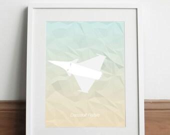 Dassault Rafale Aircraft - Art print