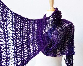 KNITTING PATTERN, Knit Scarf Pattern Knitting, Fashion Scarf Pattern, Knitted Scarf Pattern, Womens Scarf Pattern, Easy Knitting Pattern
