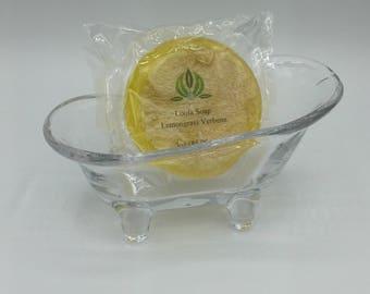 Lemongrass Verbena Glycerin Loofah Soap