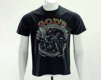 80's God's Harley Davidson 1987 T-Shirt
