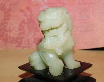 Small Jade Foo Dog