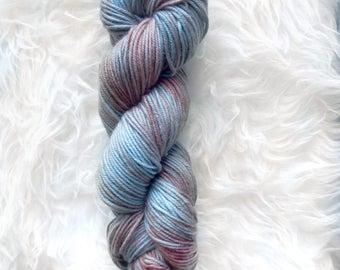 river mud - MCN dk weight yarn - merino cashmere nylon