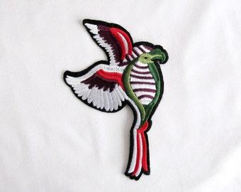 Fly Bird Iron On Patch Bird Applique Embroidered Patch  Bird Patches Animal Patch Bird Applique DIY Craft Costume Embellishment