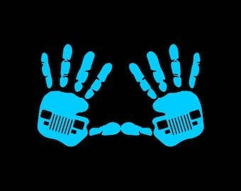 Jeep Wave YJ (Pair) Decal