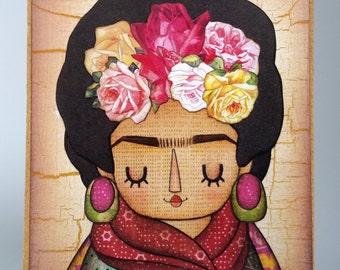 Artist Frida Kahlo Mini Artist Block