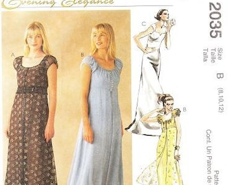 McCall's 2035 Misses' Titanic Empire Style Sewing Pattern