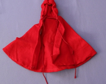 Vintage Barbie Little Red Riding Hood Cape, Fashion #0880, EXC