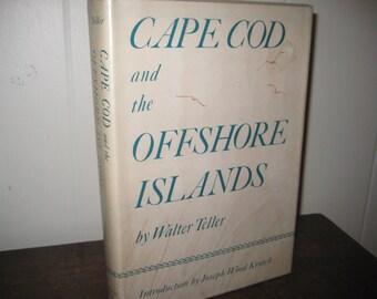 Cape Cod and the Offshore Islands Hardcover Book, 1970