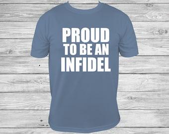 USA Pride second amendment proud infidel american proud american infidel labor day military shirt 2nd amendment, FUNNY Shirt 4th of July