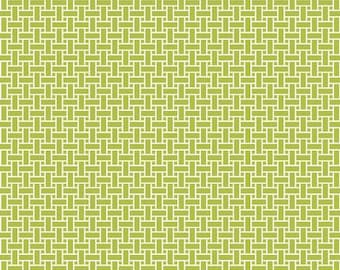 Green Basketweave flannel fabric. CuddleMe quilt quilting cotton weave STUDIOe Cuddle Me 3708