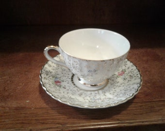 Marco Tea cup floral with gold